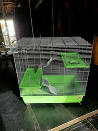 green and white pet cage Anaheim, 92801