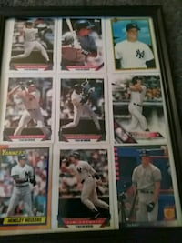 """9""""x12"""" framed picture *Yankees Shelton, 06484"""