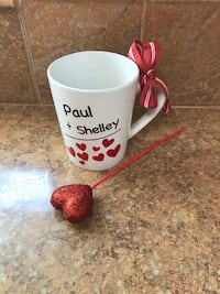 Personalized Valentines Day Mug Cup Rancho Cucamonga, 91730