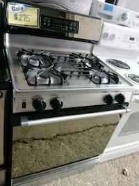 Stainless steel gas stove Baltimore, 21223