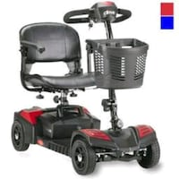 black and red mobility scooter Newnan, 30263