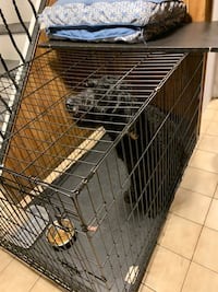 Dog pet crate cage