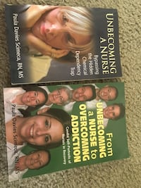 Nurses in Recovery Books (New) :A two part series Alexandria, 22306