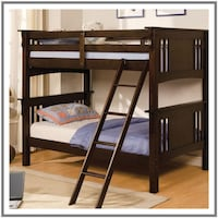 Mission Styled Bunk Bed Huntington Beach
