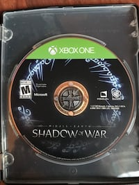 Xbox One - Shadow of War North Vancouver, V7P