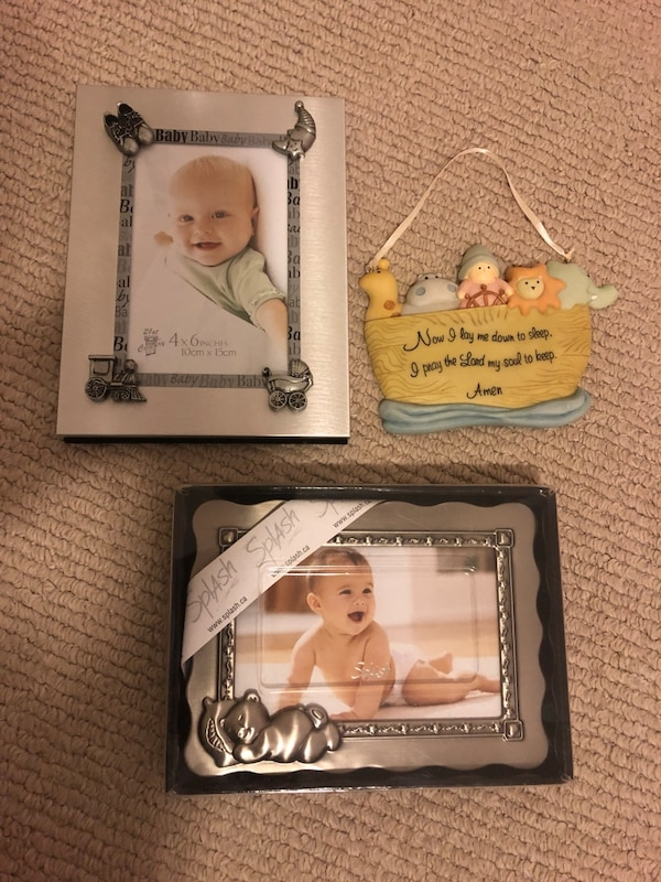 Baby Picture Frames and decor