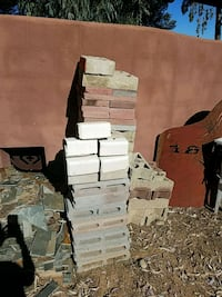 bricks and blocks approximately 60 pieces Scottsdale