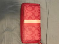 Pink coach wallet Miami Lakes, 33014