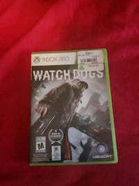Xbox 360 watch dogs Sault Ste. Marie, P6C 5T6