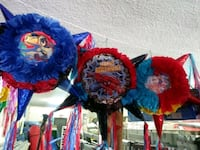 blue and red floral textile Bakersfield, 93306
