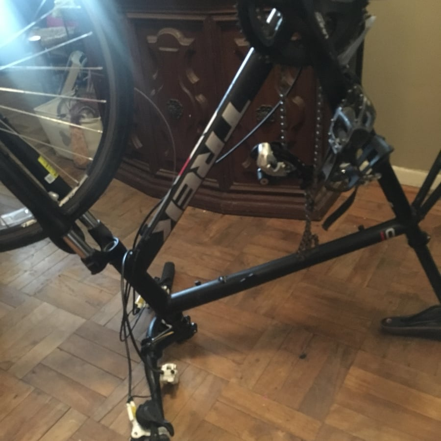 Bike for sale, have front tire and the other brake needs attached 77763a10-622f-41f9-9ae7-1027f5bbc10c