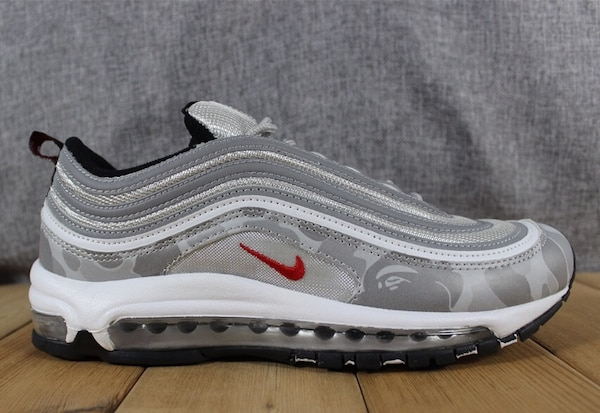 newest 365a7 64183 Nike Air Max 97 X Bape Sample ($350) For Order Only