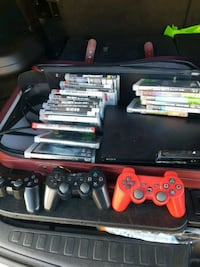 Ps3 with games New Westminster, V3M 3X7