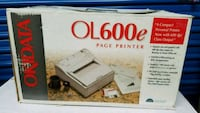 Okidata OL600 E laser printer Rockville, 20850