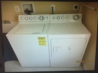 GE Washer & Gas dryer.  Fulton, 20759