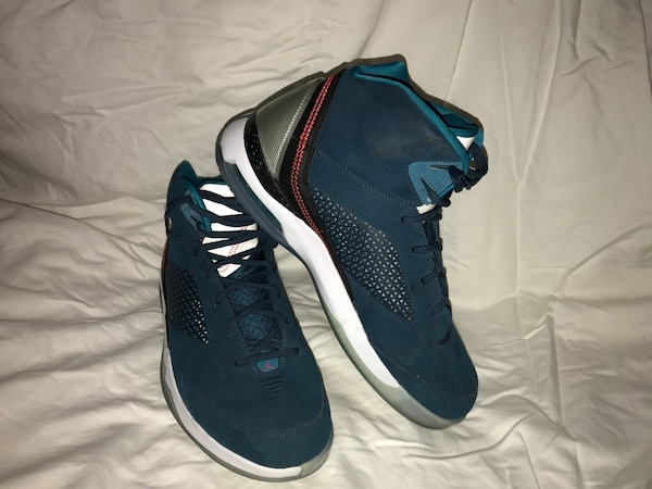 316e957b02671c Used blue-gray-white high top basketball shoex for sale in Clive - letgo