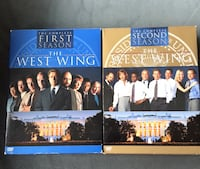 The West Wing, Seasons 1 and 2 DVDs Ashburn, 20148