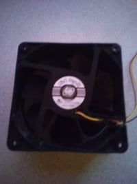 Link Depot DC12V 0.35A Fan x1, Used but Like New HOUSTON