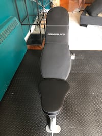 PowerBlock adjustable sport bench, *BRAND NEW & STILL IN BOX*