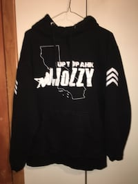 Mozzy hoodie size large