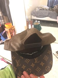 Black and brown louis vuitton leather cap Silver Spring, 20906