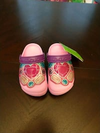 toddler's pink and green shoes Laurel, 20708