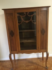 China cabinet Queen Anne antique