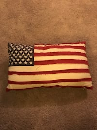 American Flag decorative pillow  Seattle, 98106
