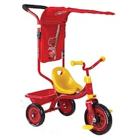 Toddler's Disney cats trike used