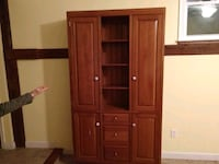 Pantry cabinet, solid cherry wood New Hope, 18938