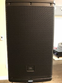 Pair of JBL EON 610 with Stands
