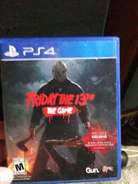 Sony PS4 game friday the 13th South Bend, 46615