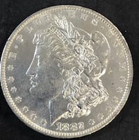 1882-O Morgan Silver Dollar - BU  (C8) Redding