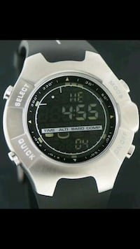 SUUNTO OBSERVER STAINLESS STEEL WATCH WITH RUBBER  Barrie, L4N