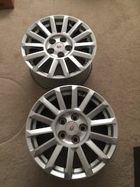 Cadillac rims 2 in good condition  Burnaby, V5H