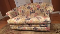 Loveseat -  floral fabric