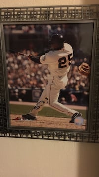 Barry Bonds autographed and authenticated with COA Linthicum Heights, 21090