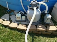 Salt water clorniator and sand filter Kearneysville, 25430