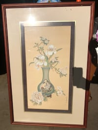 Wall petaled flower painting Monterey Park, 91754