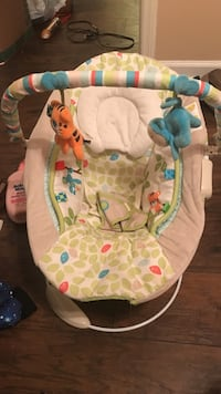 baby's white and green bouncer Nashville, 37115