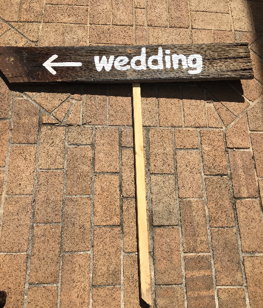2 Wedding Signs Leesburg