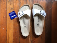 Brand new unworn birkenstocks / womens size 8