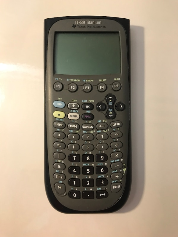 Rask Used Texas Instruments TI-89 Titanium Graphing Calculator for sale YY-89
