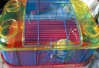 blue and yellow metal pet cage Maumee, 43537