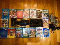 Wiiu game system gently used includes game pad wires controllers 16 assorted games worth over $800.0 alone i'm selling for $250.00 pick up in staten island.
