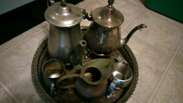 Brass, stainless steel items