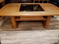 Rustic Oak Table Set (2: Coffee/End) WATERLOO