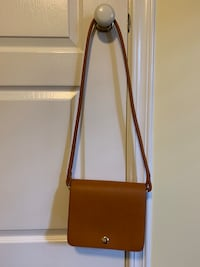 Zara brown leather purse