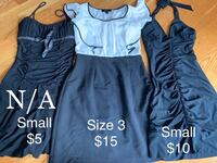 Dresses Sizes 3 & Small. Prices and sizes listed in cover photo! Smoke/Pet Free Home! Goshen, 10924
