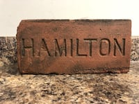 Vintage Hamilton brick works home decor. 1900's. Hamilton, L8H 4R4